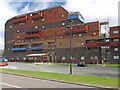 NZ2664 : Byker Wall from Dalton Street by Andrew Curtis