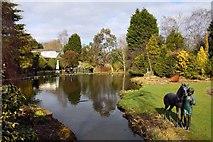 SJ6651 : Stapeley Water Gardens by Steve Daniels