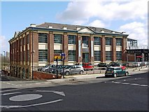 NZ2564 : The Biscuit Factory, Stoddart Street, Shieldfield by Andrew Curtis