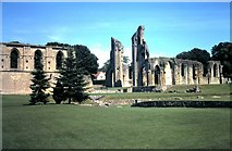 ST5038 : Glastonbury Abbey by David P Howard