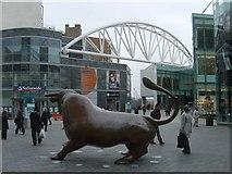 SP0786 : Bulls Eye View by Gordon Griffiths