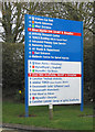 SJ3032 : Sign at Gobowen Orthopaedic Hospital by Dave Croker