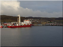 HU4642 : Holmsgarth and the Shetland Hotel by Ruth Sharville