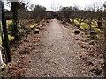 NZ2334 : Walled Garden at Whitworth Hall by Clive Nicholson