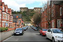 SK5639 : Nottingham Castle from Hope Drive by David Lally