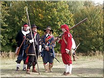 TF3465 : Re-enactment - The Siege of Bolingbroke Castle by Dave Hitchborne
