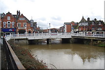 TQ5946 : The Big Bridge, Tonbridge by N Chadwick