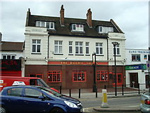 TQ4085 : The Railway Tavern public house, Forest Gate by Stacey Harris