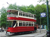 SK3455 : National Tramway Museum by Malc McDonald