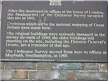 SU4212 : Ordnance Survey, London Road site, 1841-1969 by Alex McGregor