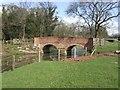 SJ9315 : River Penk Bridge near Lower Drayton by John M