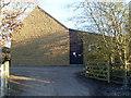 SP8691 : Rockingham Telephone Exchange (2) by David Hillas