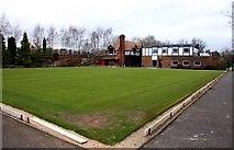 SJ3384 : Bowls Green on Greendale Road by Steve Daniels