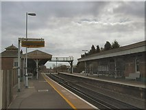TQ0004 : Ford Railway Station by Paul Gillett