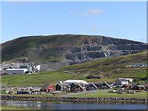 HU4039 : View of Scord Quarry, Scalloway by Robbie