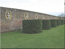 TQ1773 : Ham House: line of busts by Stephen Craven