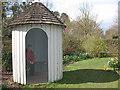 TQ1772 : Ham House: garden shelter by Stephen Craven