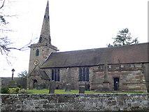 SJ8417 : St Editha's Church, Church Eaton by Eirian Evans