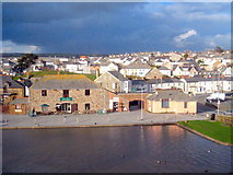 SS2006 : Canalside buildings in Bude canal basin by Rod Allday