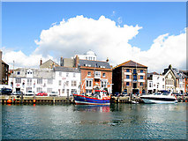 SY6778 : Weymouth Harbour by M Etherington