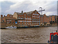 SE6051 : Woodsmill Quay, Queen's Staith by David Dixon