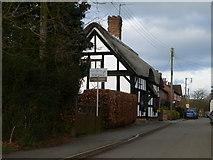 SJ8417 : Church Eaton High Street by Eirian Evans