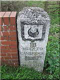 TL4352 : Old Milepost by Keith Evans