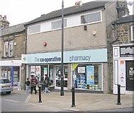 SE2041 : The co-operative pharmacy - High Street by Betty Longbottom