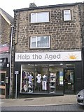 SE2041 : Help the Aged - High Street by Betty Longbottom