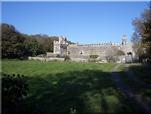 SM7525 : Bishop's Palace, St. David's by Andrew Abbott