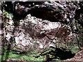 NS7178 : The Covenanter's Cave, Garrel Glen by Robert Murray