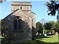 ST3757 : Christon Church and churchyard by Ruth Sharville
