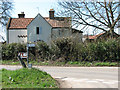 TG1208 : Home Farm (farmhouse) by Evelyn Simak