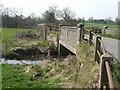 SK0234 : River Blithe bridge near Manor Farm by John M
