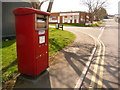 SY6890 : Dorchester: postbox № DT1 510, Maumbury Trading Estate by Chris Downer