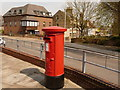 SY6990 : Dorchester: postbox № DT1 201, Acland Road by Chris Downer