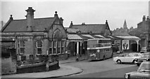 SE1039 : Bingley Station, exterior Down side by Ben Brooksbank