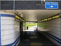 SP3378 : Subway, Ringway Queens by Robin Stott