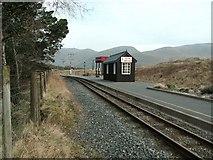 SH5752 : Rhyd - Ddu station on Welsh Highland Railway by Raymond Knapman