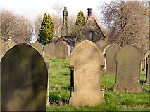 SJ8098 : Weaste Cemetery by David Dixon