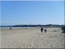 NO5017 : West Sands Beach, St Andrews by Stephen Sweeney