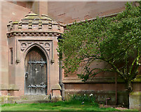 SO8286 : The Church of St Mary (detail), Enville, Staffordshire by Roger  Kidd