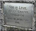 C0921 : Plaque, Drumoghill Church by Kenneth  Allen