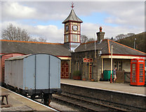 SD8022 : Rawtenstall Station by David Dixon