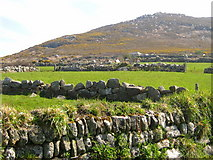 SW4538 : Walls and fields - Zennor by Sarah Smith