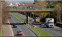 J3875 : The Parkway, Belfast (5) by Albert Bridge