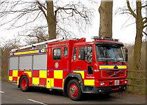 J3269 : Fire appliance, Minnowburn, Belfast (1) by Albert Bridge