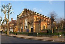 TQ2374 : St Simon's church, Putney by Derek Harper