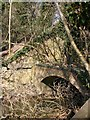SP3050 : Double arch bridge on the S&MJR, near Combrook by David P Howard
