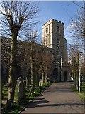 TQ2475 : All Saints Church, Fulham by Derek Harper